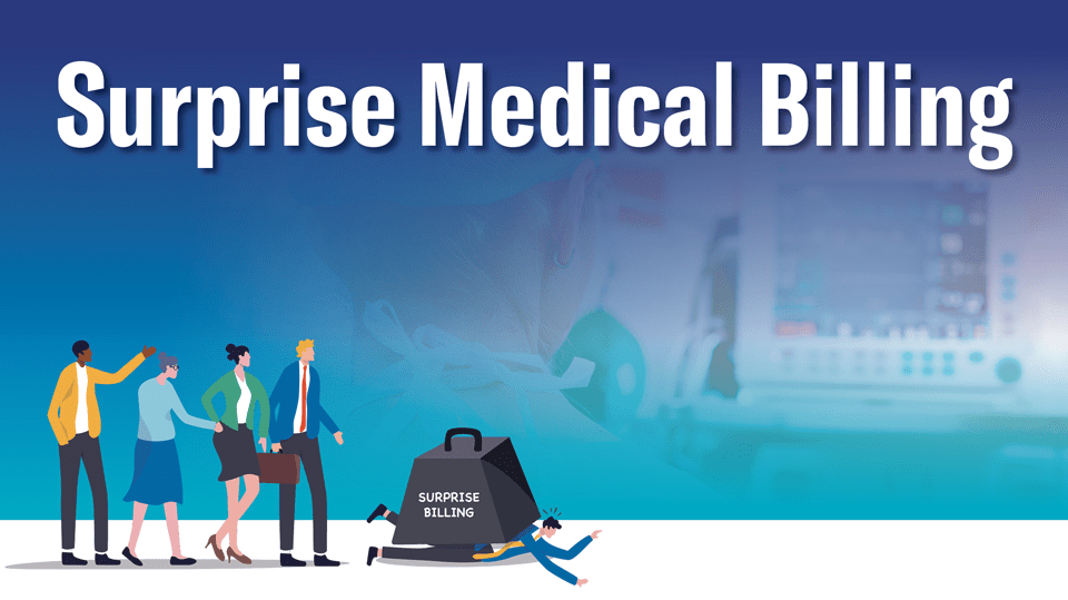 Graphic for the surprise medical billing concerning anesthesiologists