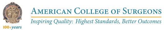ACS logo - American College of Surgeons