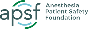 Anesthesia Patient Safety Foundation (APSF) logo