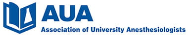 Association of University Anesthesiologists (AUA) logo