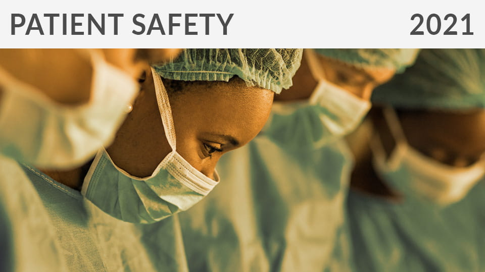 2021 Paient Safety education CME courses from ASA