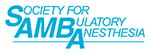 Logo for Society for Ambulatory Anesthesia (SAMBA)