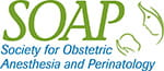 Logo for Society for Obstetric Anesthesia and Perinatology (SOAP)