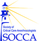Logo for Society of Critical Care Anesthesiologists (SOCCA)