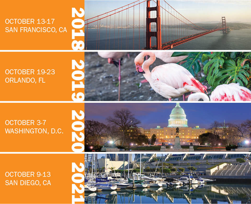 ANESTHESIOLOGY annual meeting future dates in 2018 2019 2020 2021