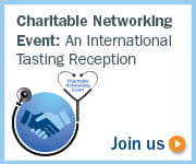 Charitable Networking Event: An International Tasting Reception