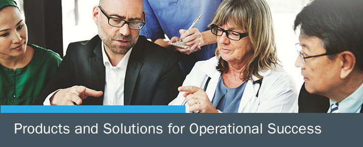 Products and Solutions for Operational Success