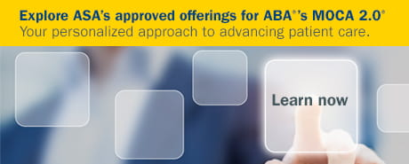 Explore ASA's approved offerings for ABA's MOCA 2.0