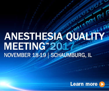 Anesthesia Quality Meeting 2017