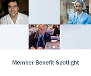 Member Benefit Spotlight