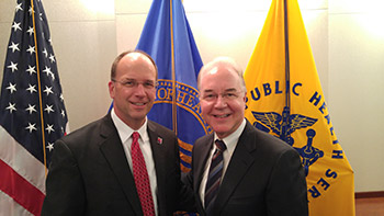 Dr. Don Arnold and Dr. Tom Price