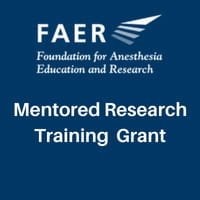 Mentored research training grant