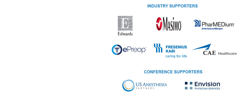 PM18 Industry and Conference supporters