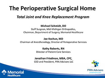Total Joint and Knee Replacement Program